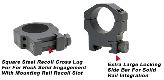 30mm Aluminum Sniper Grade Scope Rings