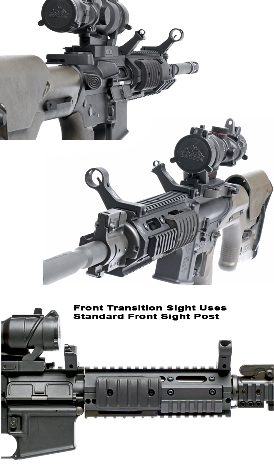 45 Degree Iron Sights