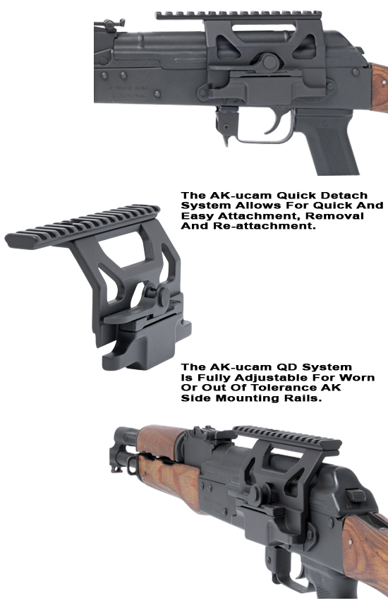 AK Scope Mount -  Quick Detach