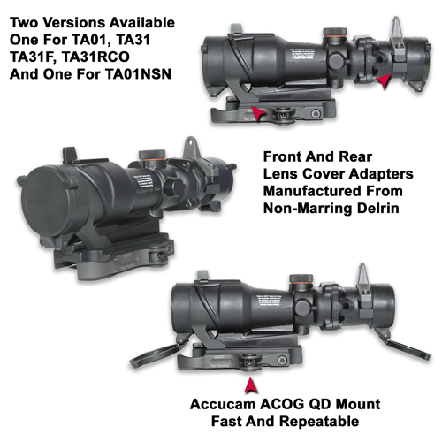 acog mount with integral lens cover gg g tactical accessories