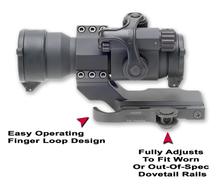 Aimpoint Quick Detach Cantilever Ring