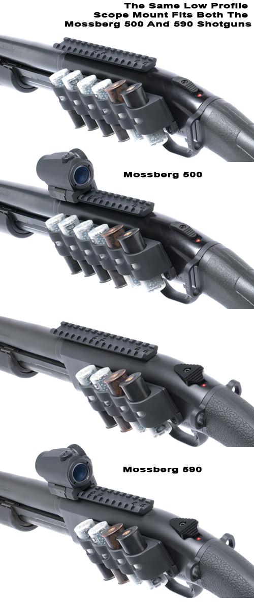 Mossberg 500/590 Scope Moun