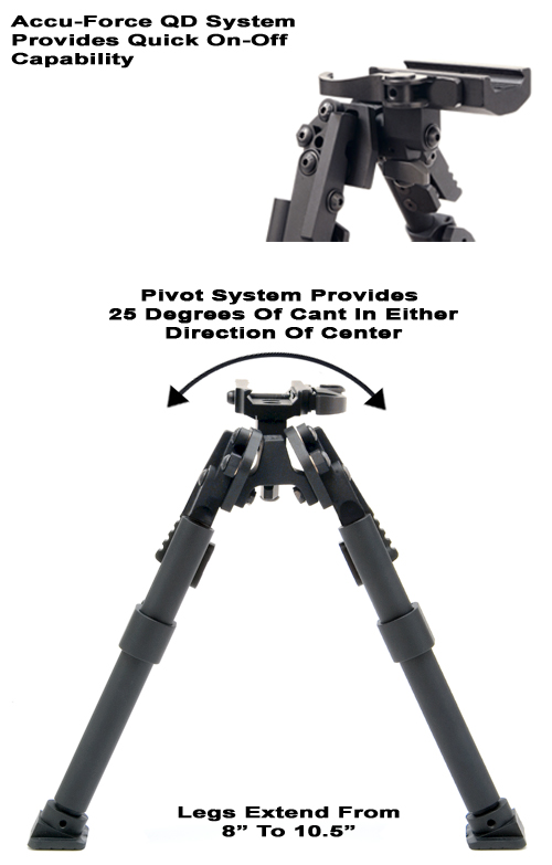 Quick Detach Heavy Duty XDS Bipod