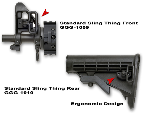 Ar15 Sling Adapter Gg Amp G Sling Thing Front And Rear Sling
