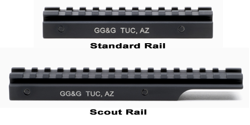 Standard And Scout Length Rails