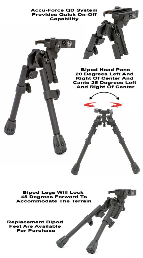 XDS-2 Quick Detach Tactical Bipod
