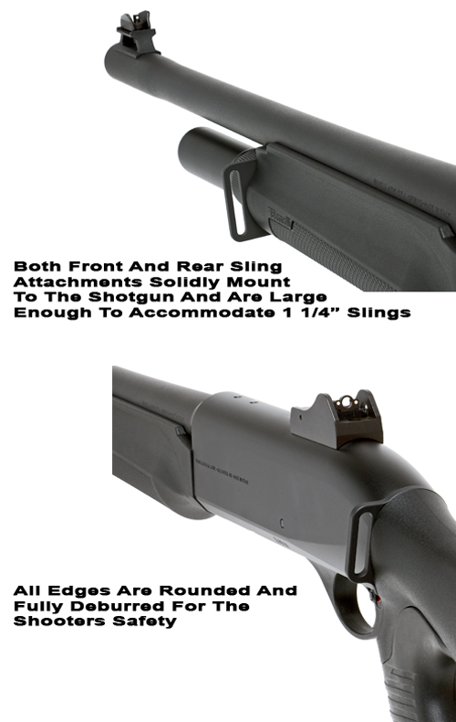 Benelli M2 Front And Rear Sling Attachments