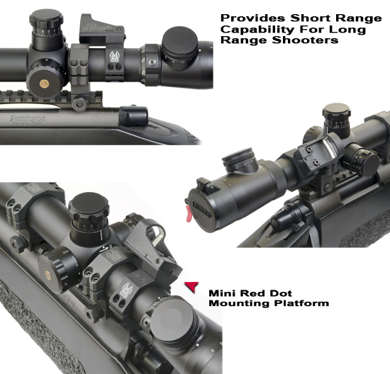 B Comp Red Dot Rifle Scope Mounting Platform Mounts For