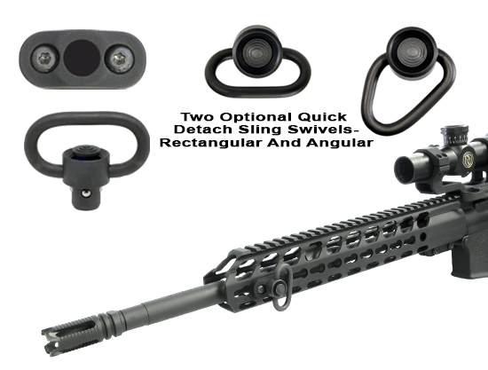 Mad hook up single point sling attachment
