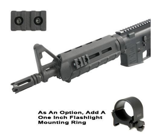 M-LOK Three Slot Accessory Rail