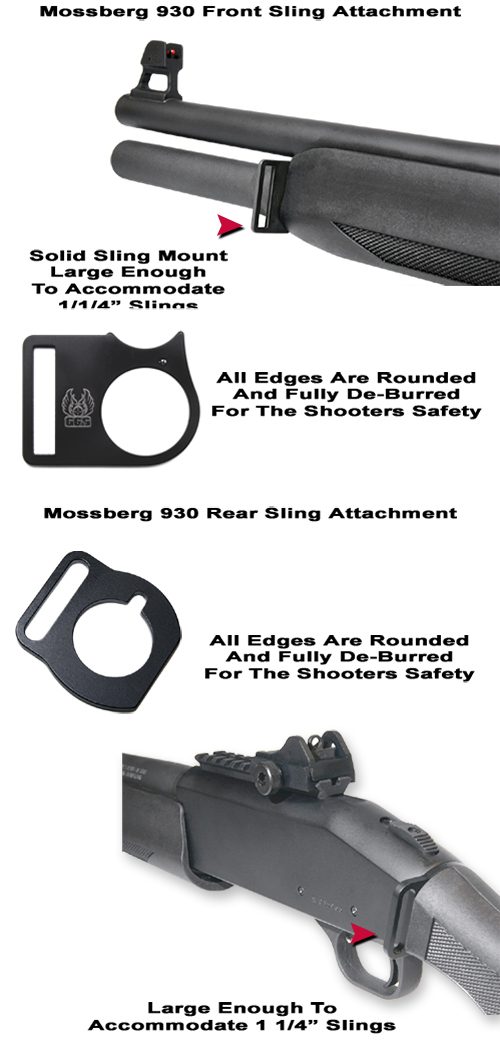 Mossberg 930 Front And Rear Sling Attachments