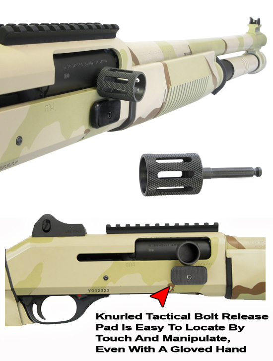Benelli M4 Slotted Tactical Charging Handle