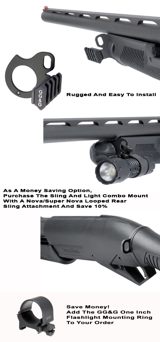 Benelli Nova And Super Nova Sling And Flashlight Mount