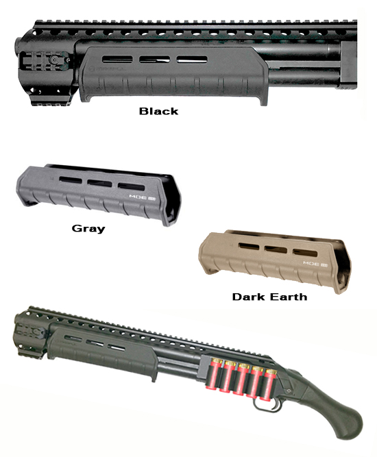 Magpul Forearm For Black Aces Magpul Forearm For Black Aces Mossberg Shockwave Forearm For Black Aces Quad Rail