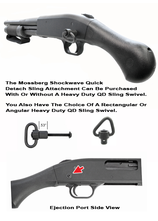 Mossberg Shockwave Quick Detach Rear Sling Attachment