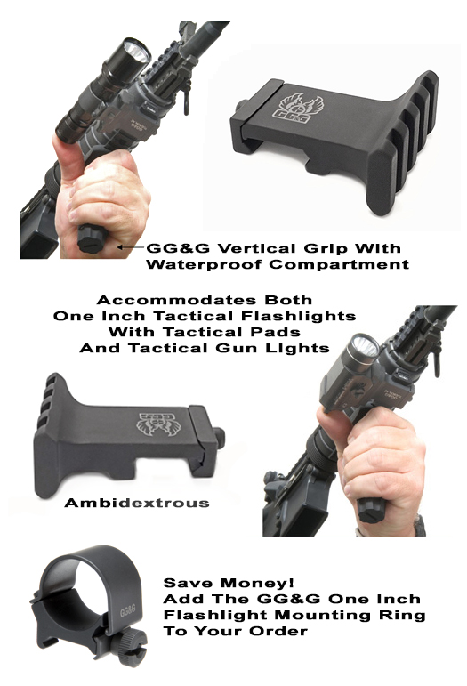 Offset Tactical Flashlight Mount