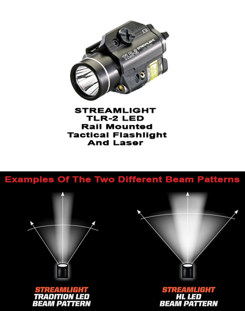 Streamlight TLR-2 Tactical Flashlight