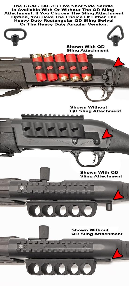 Remington Tac-13 Side Saddle Shell Holder