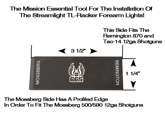 Mossberg And Remington Shotgun Forearm Installation Tool