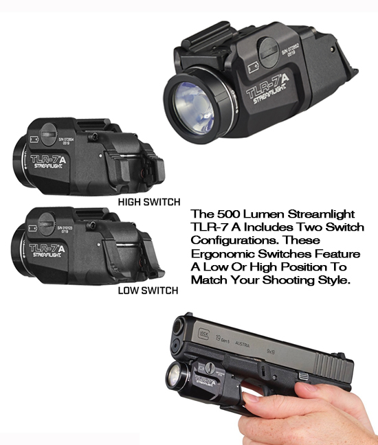 STREAMLIGHT TLR-7A Flex Tactical Weapon