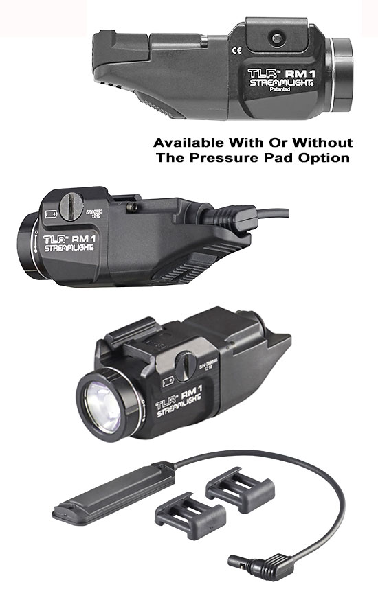 Streamlight TLR RM1 Mounted Tactical Lighting System