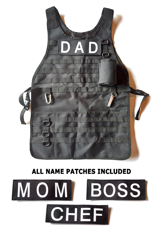 Tactical Barbecue Apron