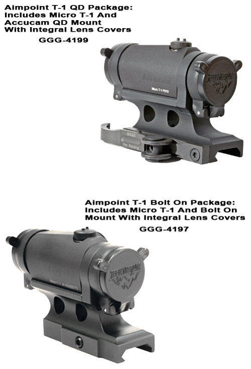 Aimpoint T-1 Micro 4MOA Discounted Package Deals
