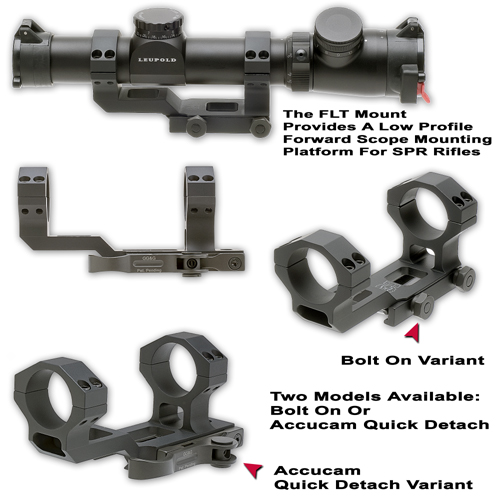 Spr Rifle Scope Mount Flt Scope Mount For Special