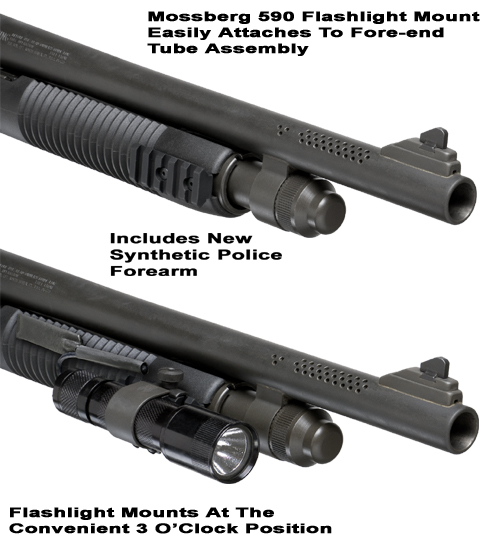 Mossberg Forearn Flashlight Mount