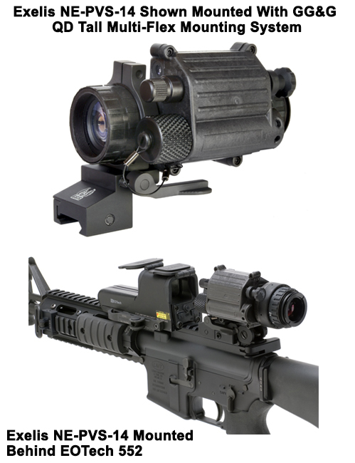 "PVS-14 Night Vision Night Enforcer ""Good To Go"" Package"
