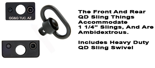 Quick Detach Sling Thing Sling Attachments With Heavy Duty QD Swivels