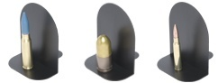 Ordnance Bookends <br/>Dress Up That Man Cave!