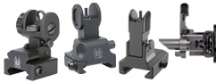 AR Front And Rear Sight Packages<br/>Manually Deployed