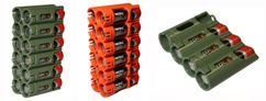 AA Battery Caddies Four <br/>And Twelve Packs