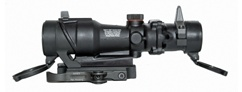 Accucam Quick Detach ACOG <br/>Mount With Integral Lens Covers