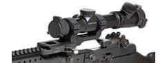 SOCOM II Accucam<br/> Quick Detach Scope Mount <br/>With 30mm Integral Rings