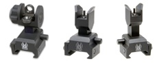 AR Spring Actuated <br/>Front And Rear Sight Packages