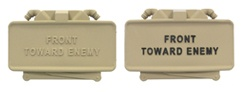 Tan Claymore Mine<br/> Desk Accessory