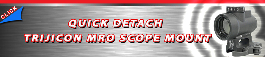 Quick Detach Trijicon MRO Scope Mount