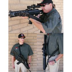 Specter SOP 3 Point Tactical Sling With Snap Hooks