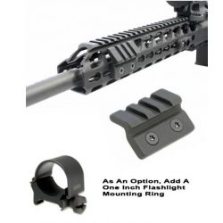 KeyMod 45 Degree Offset Accessory Rail
