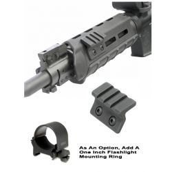 M-LOK 45 Degree Offset Rail