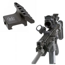 45 Degree Offset Mount Accessory Rail