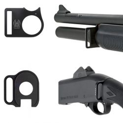 Remington 870 Front And Rear Sling Attachments