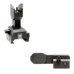 Spring Actuated Flip Up Front Sight For Dovetails And Dovetail Gas Blocks