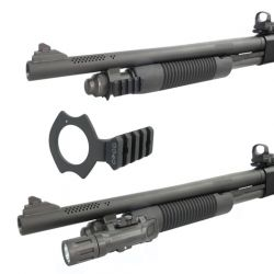 Mossberg 590 Sling And Flashlight Combo Mount