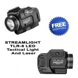 STREAMLIGHT TLR-8 Tactical Weapon Light With Laser