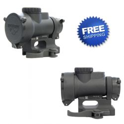 Quick Detach Trijicon MRO Scope Mount With Lens Covers