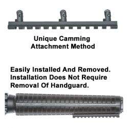 ETI Under Foregrip Rail For AR-15 Rifle Forearms