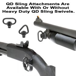 Mossberg 590 Quick Detach Front And Rear Sling Attachments